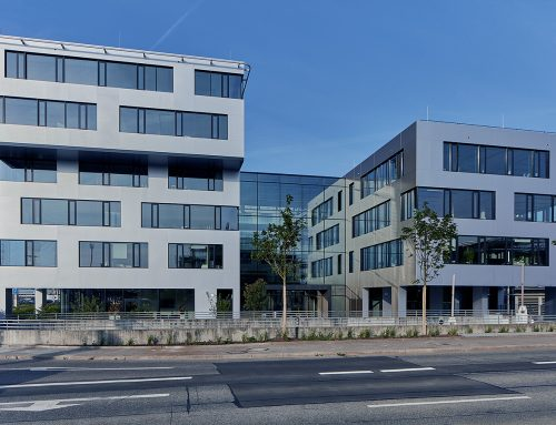 Skyport – Office building at Stuttgart Airport